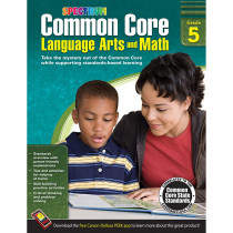 CD-704505 - Gr 5 Common Core Language Arts & Math Book in Skill Builders