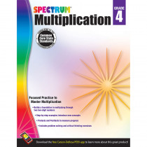 CD-704509 - Spectrum Gr4 Multiplication Workbk in Multiplication & Division