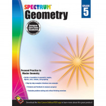 CD-704512 - Spectrum Gr5 Geometry Workbook in Geometry