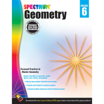 CD-704514 - Spectrum Gr6 Geometry Workbook in Geometry
