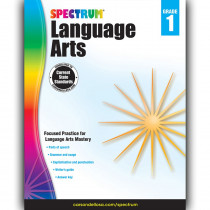 CD-704588 - Spectrum Language Arts Gr 1 in Language Skills