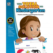 CD-704642 - Your Total Solution For Kindergarten in Reference Materials