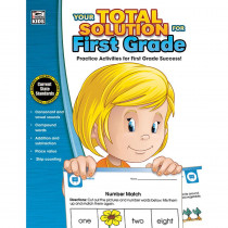 CD-704643 - Your Total Solution For First Grade in Reference Materials