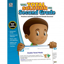 CD-704644 - Your Total Solution For Second Grade in Reference Materials