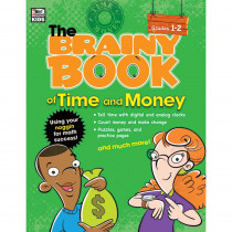 CD-704667 - Brainy Book Of Time And Money Gr 1-2 in Books
