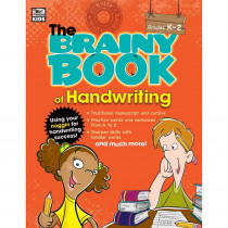 CD-704668 - Brainy Book Of Handwriting Gr K-2 in Books