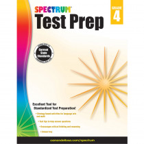 CD-704684 - Spectrum Test Prep Gr 4 in Cross-curriculum