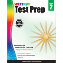 CD-704688 - Spectrum Test Prep Gr 2 in Cross-curriculum
