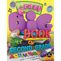 CD-704730 - Crazy Big Bk Second Gr Activities 2 in Cross-curriculum Resources