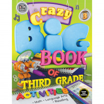 CD-704731 - Crazy Big Bk Third Gr Activities 3 in Cross-curriculum Resources