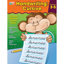 CD-704873 - Handwriting Cursive Gr 2 And Up in Handwriting Skills