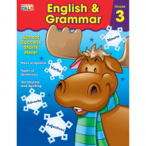 CD-704874 - English & Grammar Gr 3 in Grammar Skills