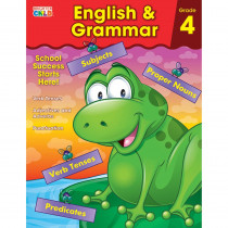 CD-704875 - English & Grammar Gr 4 in Grammar Skills