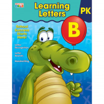CD-704878 - Learning Letters Gr Pk And Up in Letter Recognition