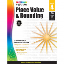 CD-704905 - Spectrum Place Value & Rounding Gr 4 in Place Value