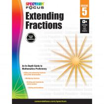 CD-704908 - Spectrum Extending Fractions Gr 5 in Fractions & Decimals
