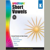 CD-704972 - Short Vowels Gr K in Letter Recognition