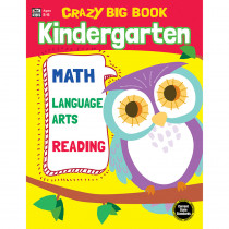 CD-705201 - Crazy Big Book Grade K in Word Skills