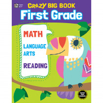 CD-705202 - Crazy Big Book Grade 1 in Word Skills