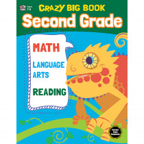 CD-705203 - Crazy Big Book Grade 2 in Word Skills