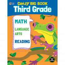 CD-705204 - Crazy Big Book Grade 3 in Word Skills