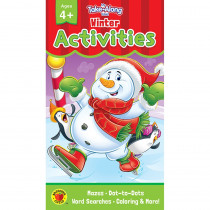 CD-705283 - Winter Activities Ages 4 - 5 My Take-Along Tablet in Holiday/seasonal