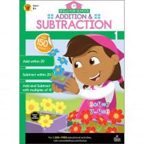 Skills for School Addition & Subtraction, Grade 1 - CD-705313   Carson Dellosa Education   Addition & Subtraction