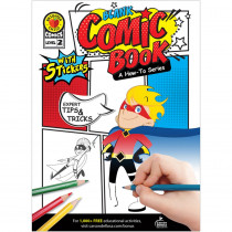 CD-705325 - Blank Comic Book Level 2 A How-To Series in Activities