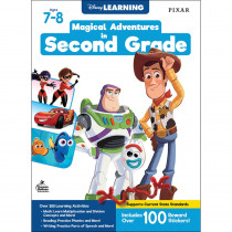Magical Adventures in Second Grade Workbook, Grade 2, Paperback - CD-705372 | Carson Dellosa Education | Classroom Activities