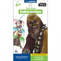 My Take-Along Tablet: Star Wars Subtraction Activity Pad Grade 1-3 Paperback - CD-705377 | Carson Dellosa Education | Math