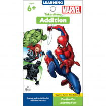 My Take-Along Tablet: Marvel Addition Activity Pad, Grade 1-3, Paperback - CD-705380 | Carson Dellosa Education | Math