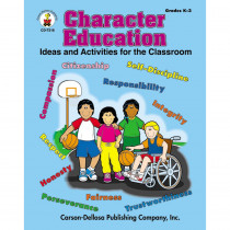 CD-7318 - Character Education Gr K-3 in Character Education