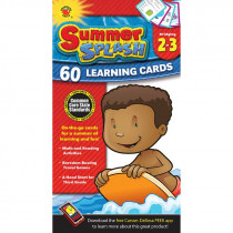 CD-734041 - Bridging Gr 2-3 Summer Splash Learning Flash Cards in Skill Builders