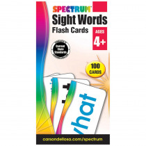 CD-734061 - Spectrum Flash Cards Sight Words in Sight Words