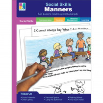 Manners Resource Book, Grade PK-2, Paperback - CD-804117 | Carson Dellosa Education | Character Education
