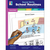 School Routines Resource Book, Grade PK-2, Paperback - CD-804118 | Carson Dellosa Education | Character Education