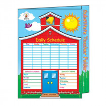 CD-8210 - Substitute Teacher Folder 9-1/2 X 11-1/2 Storage Pocket in Substitute Teachers