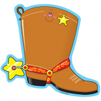 CD-9254 - Novel Note Cowboy Boot 50 Shts in Note Pads