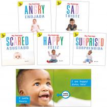 My Feelings Bilingual Board Books, Set of 5 - CD-9781731613387 | Carson Dellosa Education | Books