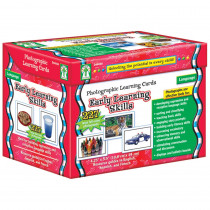 CD-D44046 - Early Learning Skills Learning Cards Set in Skill Builders