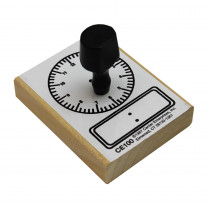 CE-100 - Stamp Digital Clock 2-1/2 X 3-1/2 in Stamps & Stamp Pads