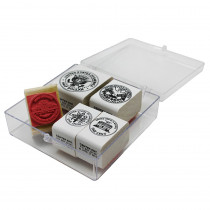 CE-104 - Stamp Set Coins Tails 5/Pk in Stamps & Stamp Pads