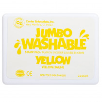 CE-5501 - Jumbo Stamp Pad Yellow Washable in Stamps & Stamp Pads