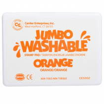 CE-5502 - Jumbo Stamp Pad Orange Washable in Stamps & Stamp Pads