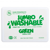 CE-5503 - Jumbo Stamp Pad Green Washable in Stamps & Stamp Pads
