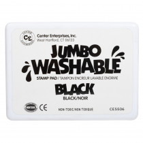 CE-5506 - Jumbo Stamp Pad Black Washable in Stamps & Stamp Pads