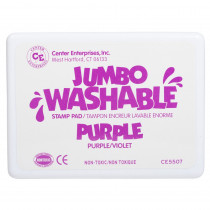 CE-5507 - Jumbo Stamp Pad Purple Washable in Stamps & Stamp Pads