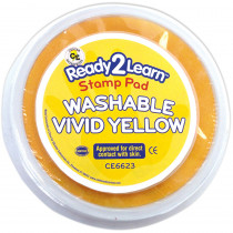 CE-6623 - Jumbo Circ Wash Stamp Pad Vivid Ylw in Stamps & Stamp Pads