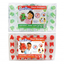 CE-6713 - Ready2learn Giant Alphabet Letters Stampers Set Includes Ce-6711&6712 in Stamps & Stamp Pads