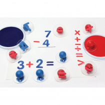 CE-6772 - Ready2learn Giant Math Signs Stamps Set Of 6 in Stamps